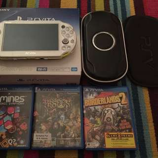 Ps Vita 2006 Slim with 16gb Sony Memory