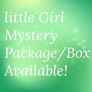 Free Mail! Little Girl Mystery Package Box