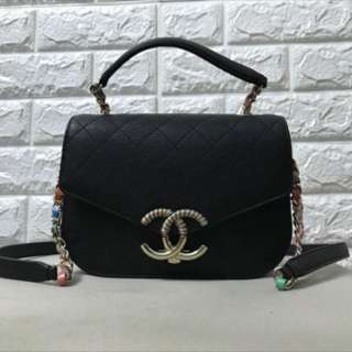 Chanel Seasonal flap bag with top handle
