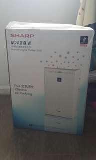 Sharp 聲寶水分HD PCI 7000 系列空氣清新機 KCAD10W