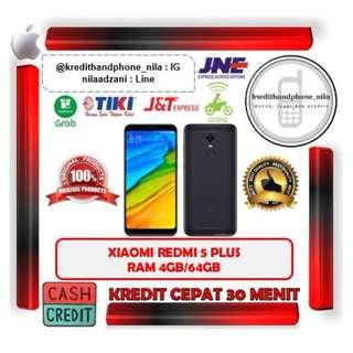 Xiaomi Redmi 5 Plus 4GB/64GB Resmi TAM, Cash & Kredit Tanpa CC Proses Cepat