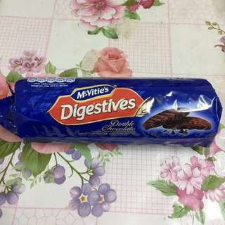 麥維他雙重朱古力消化餅 McVities double chocolate Digestives 300g