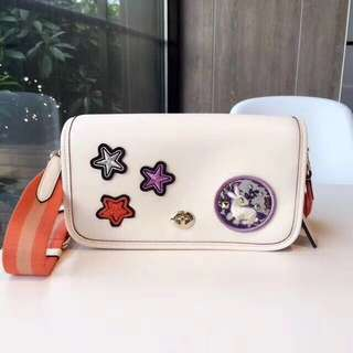 Coach Penny Crossbody with Calf Leather