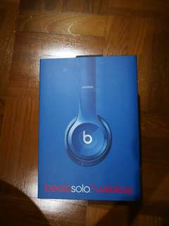 Beats Solo 2 Wireless Headphone (Price negotiable)