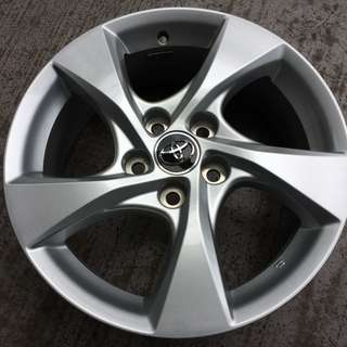 "Pre-Owned 17"" Original Toyota Sports Rim"