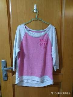Hoillter 春天中袖線質上衣,大減價$40