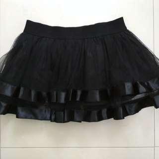 (A3) Kid's Short Layered Skirt