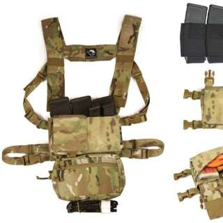 Spiritus Systems Micro Fight Chest Rig Airsoft Wargame