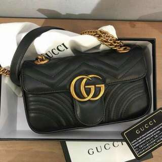 Gucci GG Marmont Leather Bag