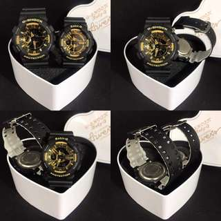 G-SHOCK COUPLE gold