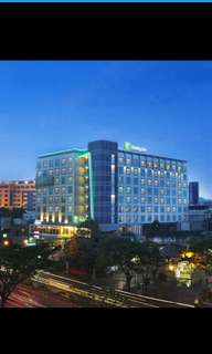 Voucher hotel holiday inn bandung weekend