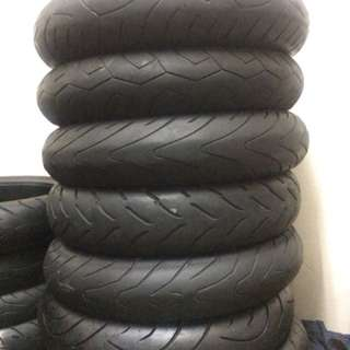 Tayar Second 120/70/17 front tyre