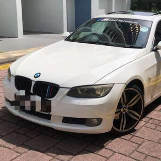 BMW 325i coupe 2008