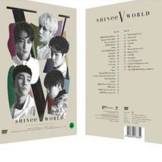 [GO] SHINee World V conncert in Seoul DVD