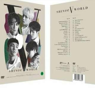 [GO] SHINee World V conncert in Seoul DVD