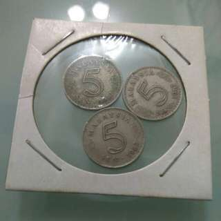 5cent Malaysia coin