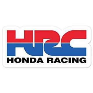 Honda HRC Decal Sticker