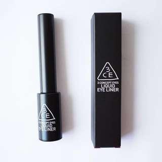 AUTHENTIC 3CE LIQUID EYELINER #BLACK - CLEARANCE U.P $32.90!