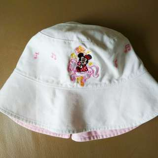 (A3) Girl's Minnie Mouse Sun Hat