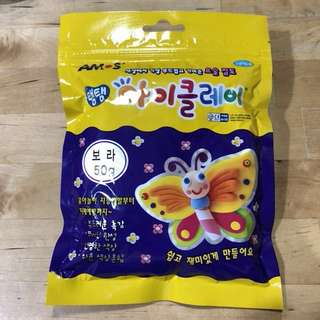 AIR DRY KOREA SOFT CLAY (50g)  Purple