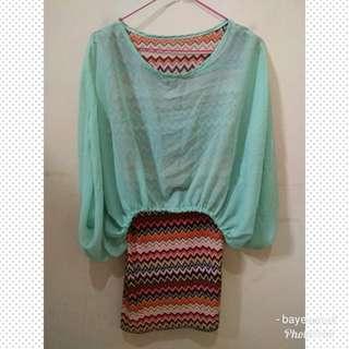 ⚡SALE⚡ Mini dress tribal (M)