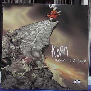 Korn Follow the Leader vinyl record 2LP