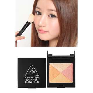 AUTHENTIC 3CE SHIMMER GLOW BLOC - CLEARANCE U.P $29.90!