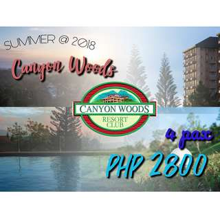 Canyon Woods Vouchers 2018