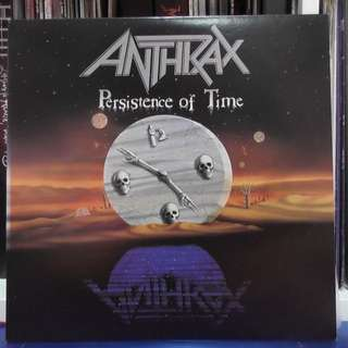 Anthrax Persistence of Time vinyl record LP