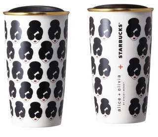 Starbucks x alice + olivia lovely tumbler