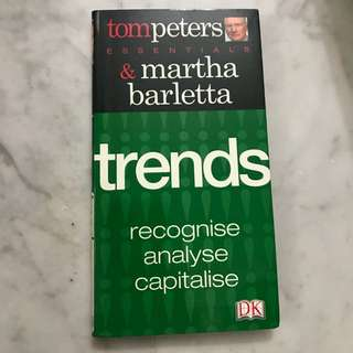 Trends - Recognise, Analyse, Capitalise
