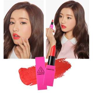 AUTHENTIC 3CE LIP COLOR #401 SCANDAL - CLEARANCE U.P $29.90!