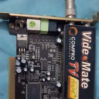 pc tv tuner card