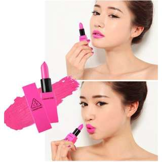 AUTHENTIC 3CE LIP COLOR #402 FUCHSIA - CLEARANCE U.P $29.90!