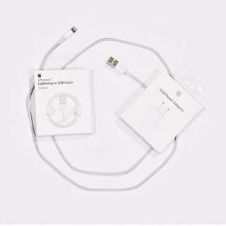 Paket lengkap kabel + Batok iphone 5 6 7 8 ORI OEM ❤️NEW