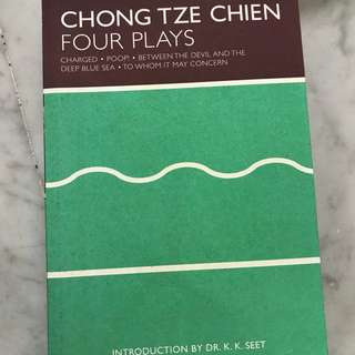 Plays by Chong Tze Chien