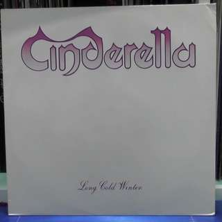 Cinderella Long Cold Winter vinyl record LP