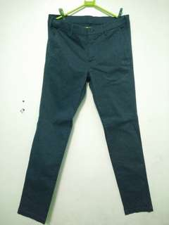 REPRICED UNIQLO PANTS (Navy Blue)