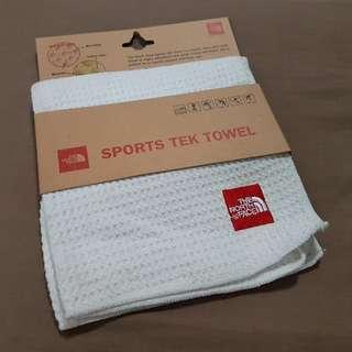 NEW NORTH FACE MICROFIBER SPORTS TEK GYM RUNNING TOWEL