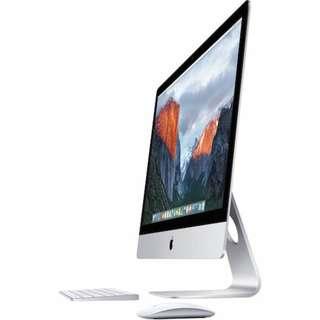 "WTS late 2013 27"" Slim i5 iMac (non-retina 5K display)"