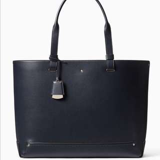 SALE Kate Spade Logan Street Rosabel Tote Dark Cadet Royal Navy Blue Handbag