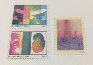 Singapore 1975 Science and industry mnh