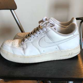 Used White Air Force 1s