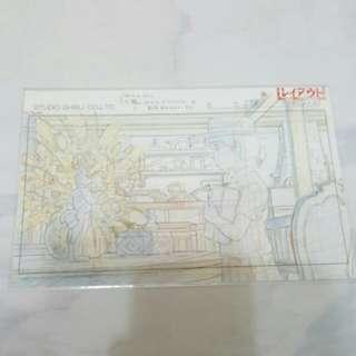 吉卜力展覽明信片