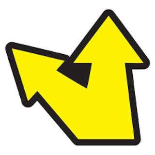 Rossi Arrow Decal Sticker