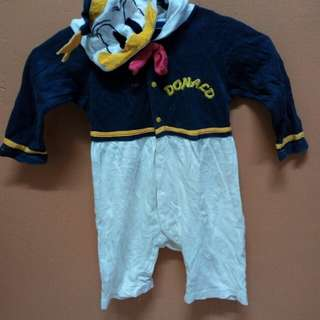 Playsuit donald duck 2-4 years