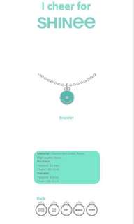 [Preorder] SHINEE OFFICIAL NECKLACE and BRACELET - I CHEER FOR SHINEE (5KINDS)