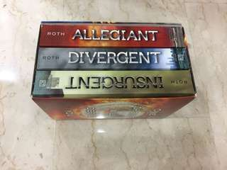 Divergent Trilogy by Veronica Roth (Price Negotiable!)
