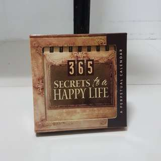365 Secrets to a Happy Life Book from Zion