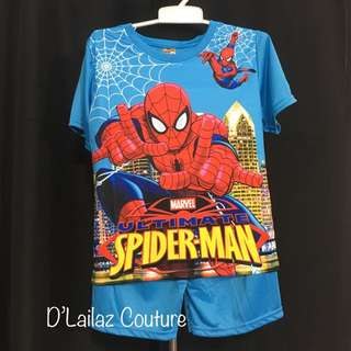 Spiderman Blue XXL last 2 pc